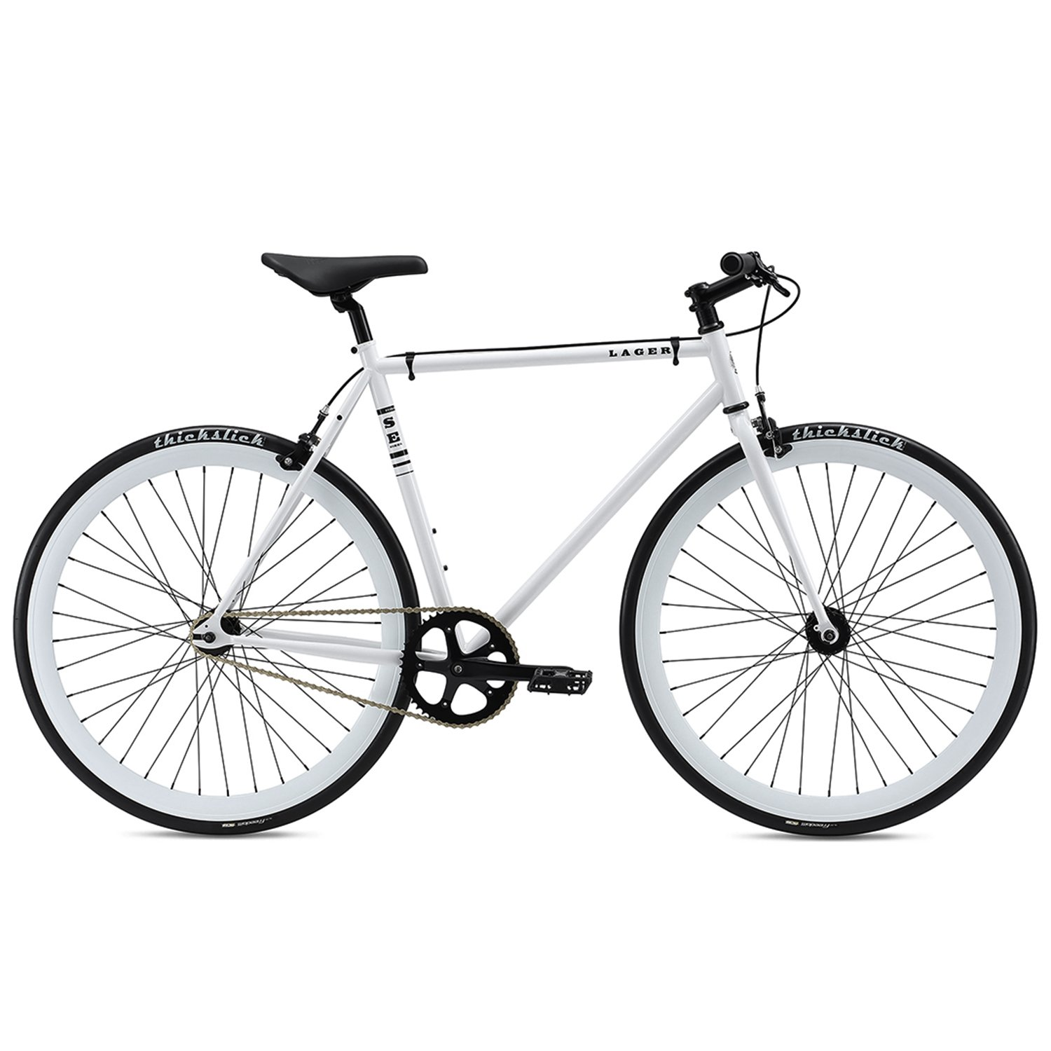 Se Lager City Bike – 2018 B07B891T3T 49|ホワイト ホワイト 49