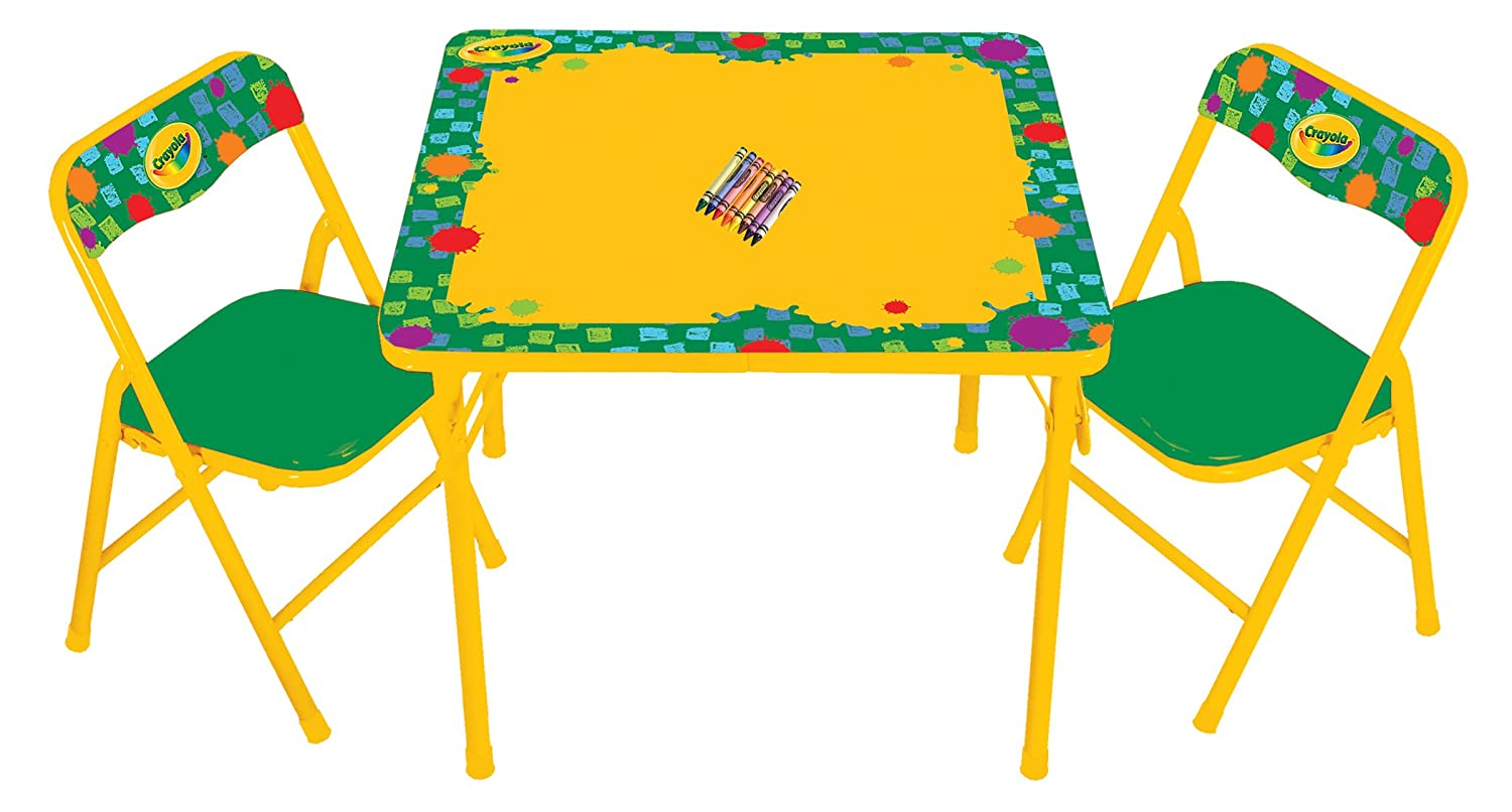 sc 1 st  Amazon.com & Amazon.com: Kids Only Crayola Erasable Activity Table Set: Toys u0026 Games