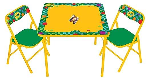 sc 1 st  Amazon.com & Amazon.com: Kids Only Crayola Erasable Activity Table Set: Toys u0026 Games