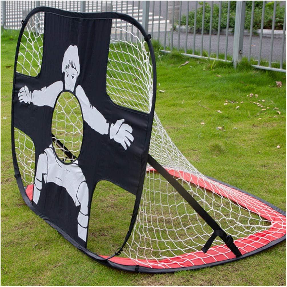 D-Work Cage de Football 2 en 1 pour tir de pr/écision 120 x 80 x 80 cm Nylon