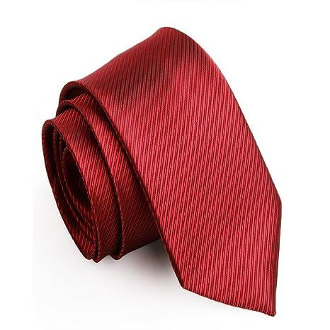 YYB-Tie Corbata Moda Corbata de Hombre Casado Novio Corbata Rosa ...