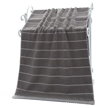 Algodón marca de agua tamaño grande toalla de baño toalla de baño toalla de baño de regalo empresa bienestar: Amazon.es: Hogar