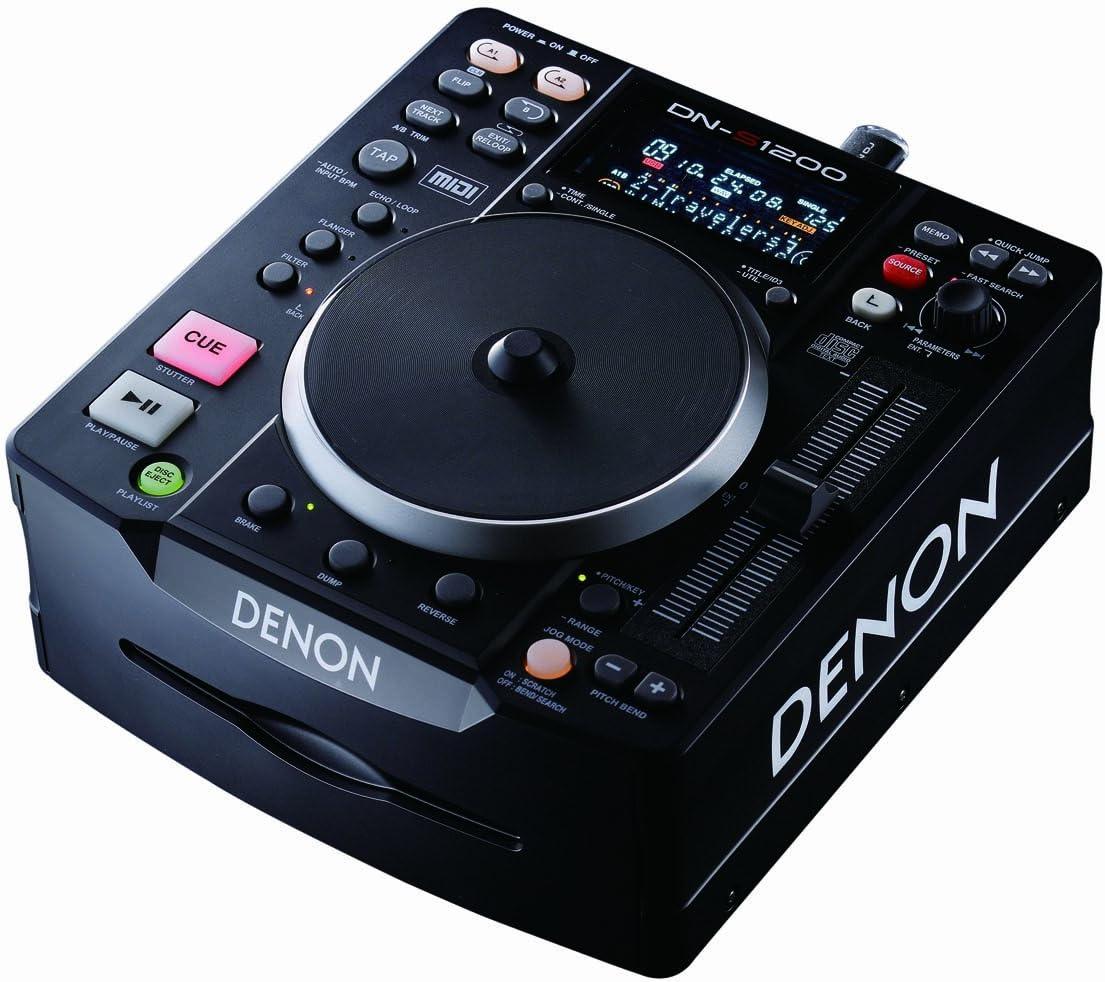 Amazon.com: Denon dn-s1200 reproductor de CD/USB Media y ...
