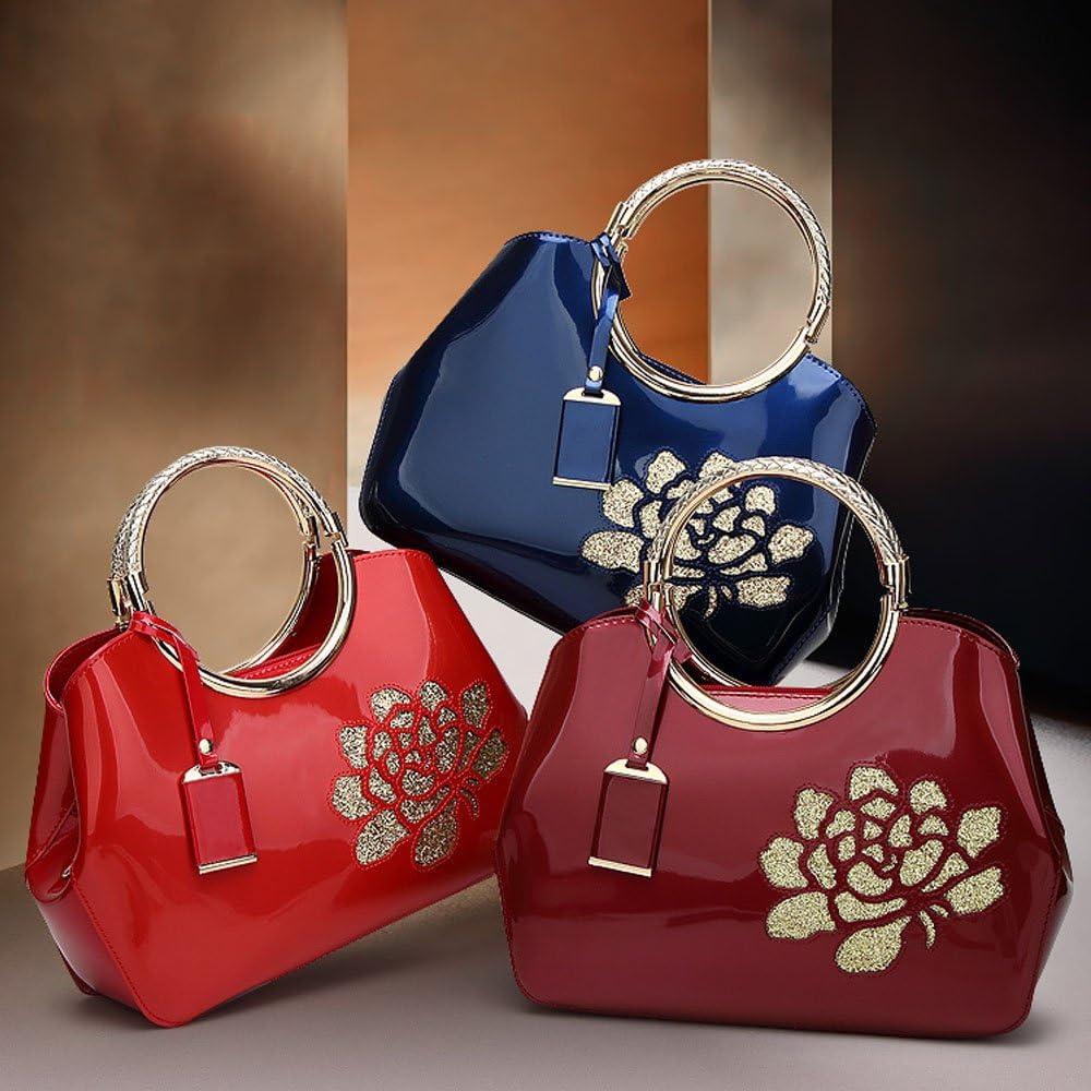 sac /à main Bleu Femmes Mode sac /à bandouli/ère dame sac port/é main style OL Mode