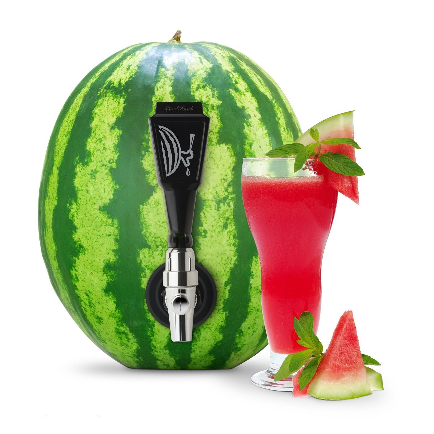 Amazon.com: Final Touch Black Watermelon Keg Tapping Kit: Kitchen ...