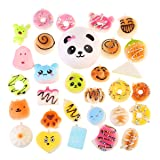 NUOLUX 30Pcs Jumbo Medium Mini Random Squishy