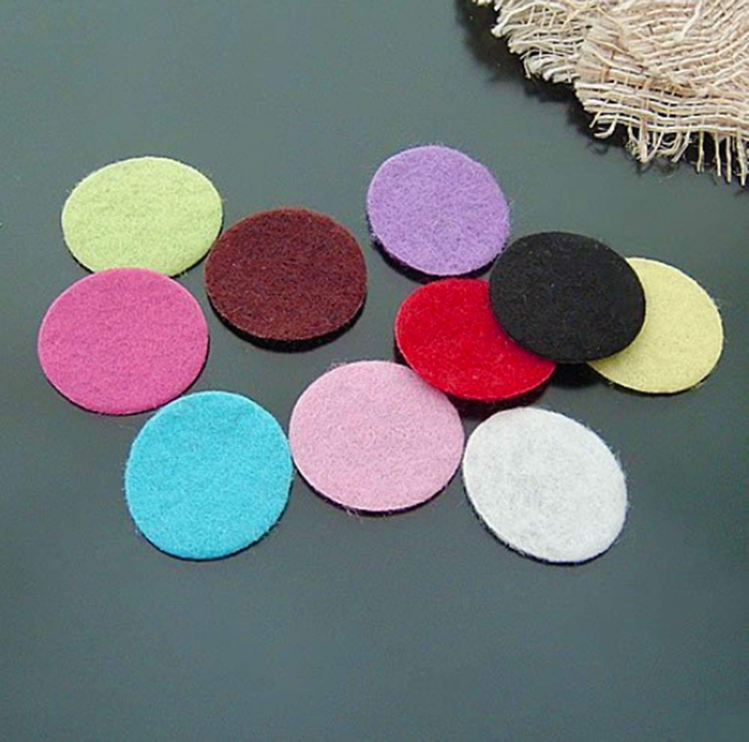 Adhesive Felt Circles; Adhesive Felt Circles for DIY and Sewing Handcraft 200 Count, White 1 Inch,