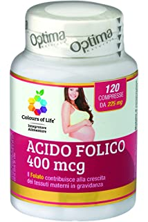 Acido Folico 400mcg 120cpr