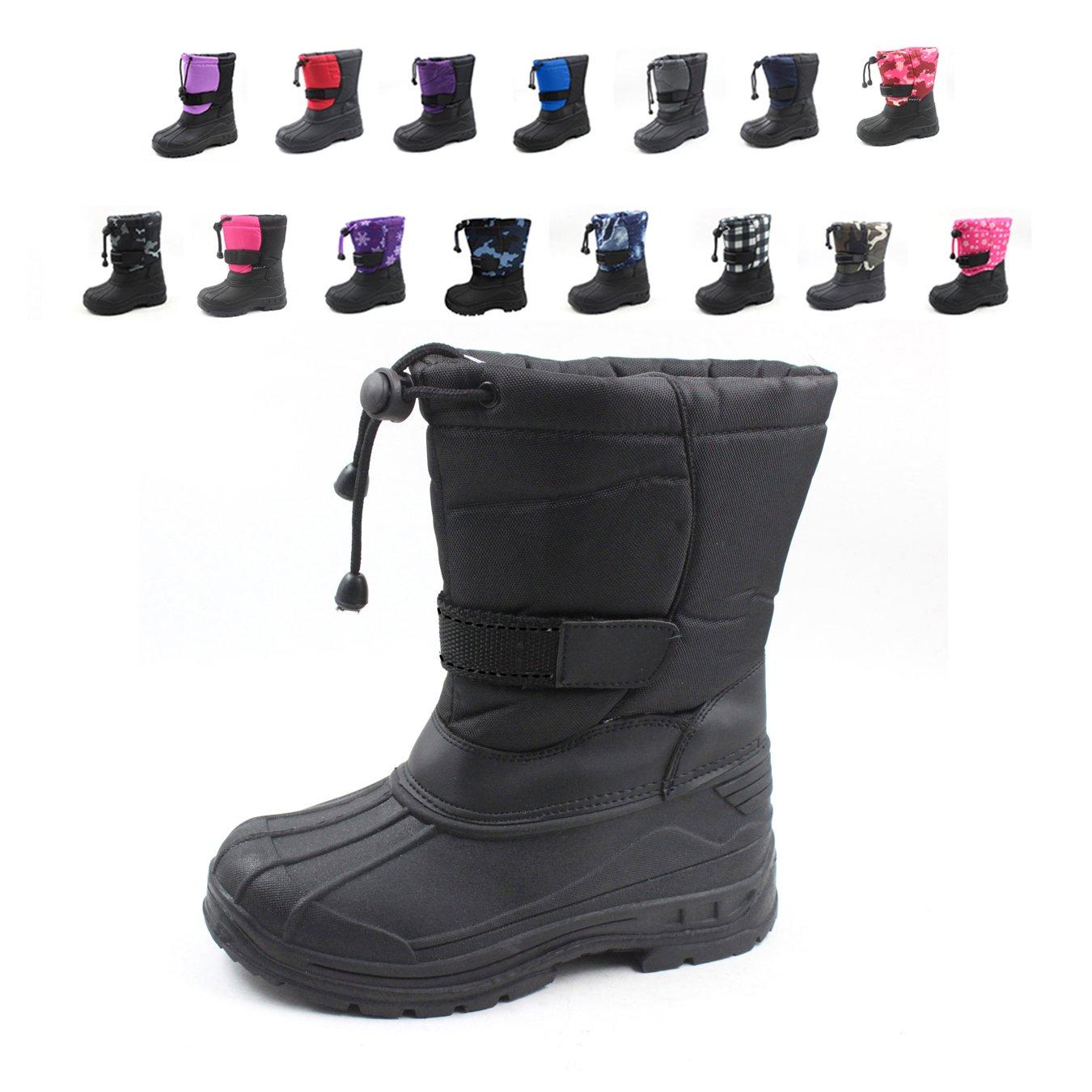 Snowkicks Cold Weather Kids Childrens Snow Boots Unisex