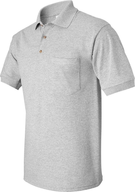 Gildan G890 56 oz Ultra Blend 50/50 Jersey Polo with Pocket