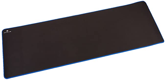 """Reflex Lab Large Extended Gaming Mouse Pad Mat Xxl, Stitched Edges, Waterproof, Ultra Thick 5mm, Wide & Long Mousepad 36""""X12""""X.20"""" by Reflex Lab"""