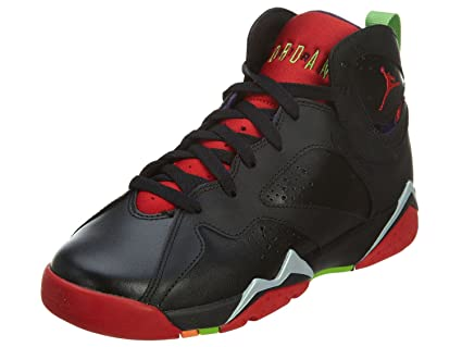 new arrival a37b7 6c008 Amazon.com  Jordan AIR 7 Retro BG Boys Sneakers 304774-034 (6Y,  Black University Red Grn Pls Cl Gry)  Sports   Outdoors