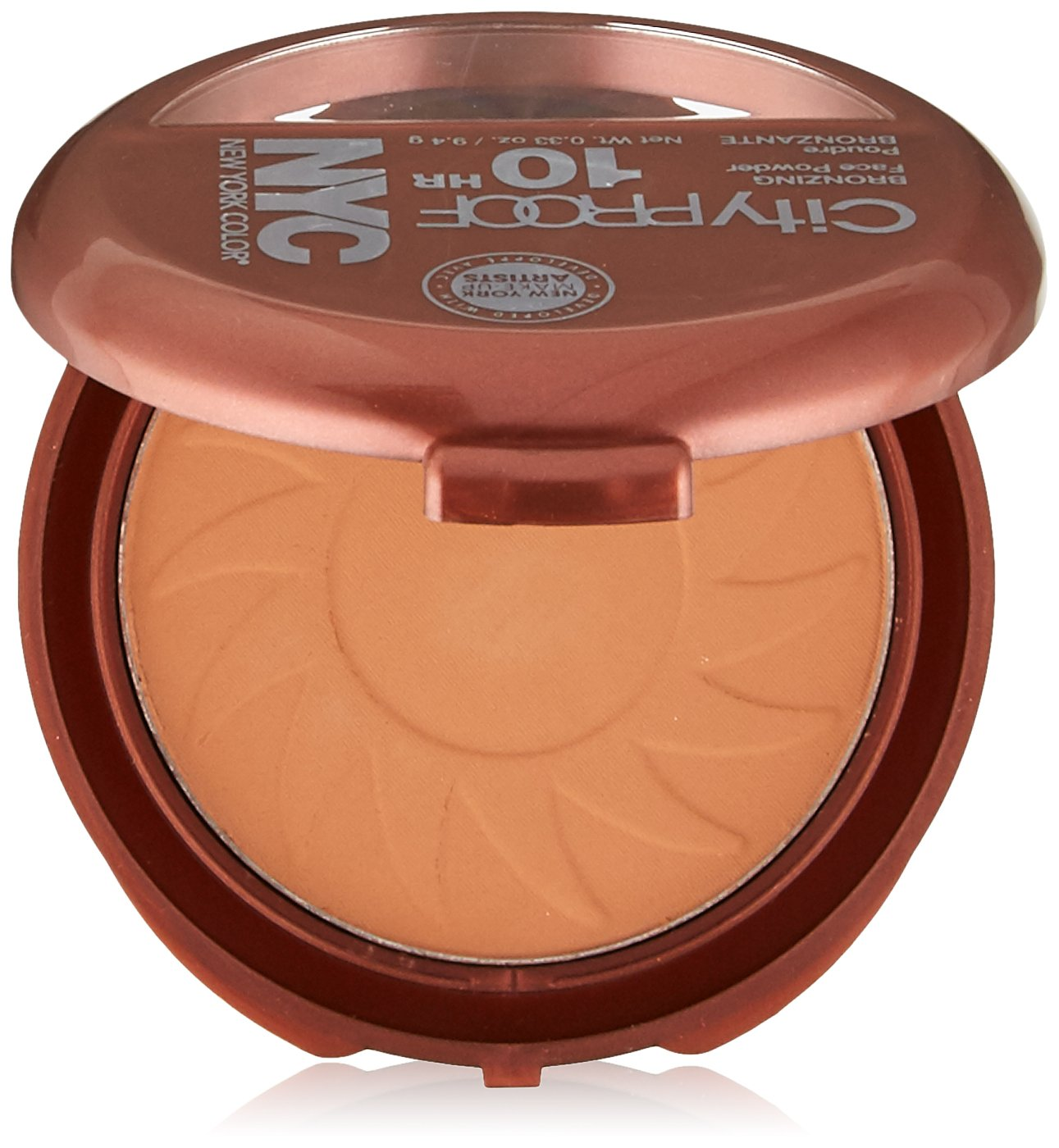 N.Y.C. New York Color Smooth Skin Bronzer, Sunny, 0.33 Ounce