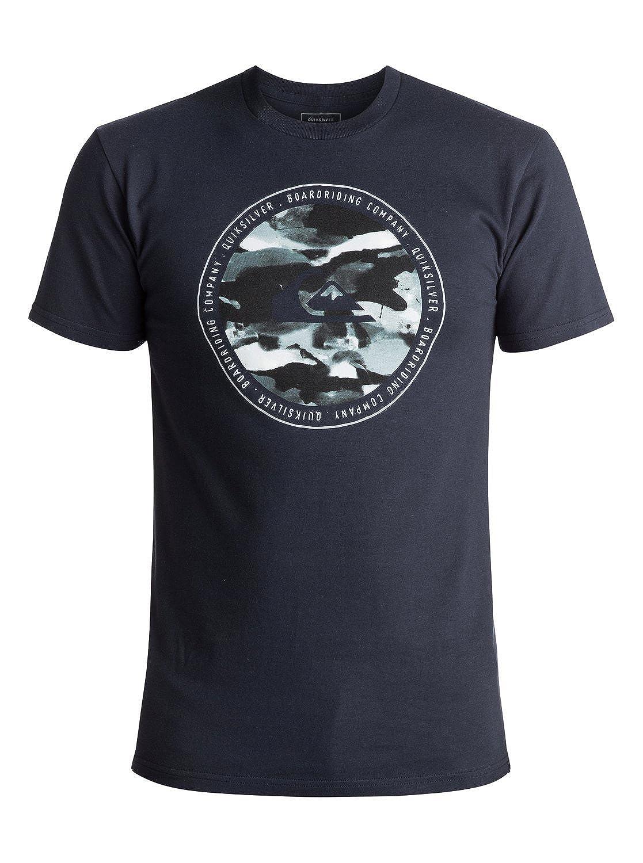 Quiksilver Mens Resin Feel T-Shirt