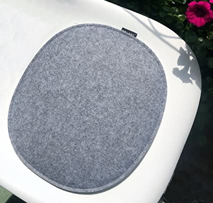 Amazon Com Welaxy Felt Seat Cushion Pad For Eames Plastic Chair Dsw