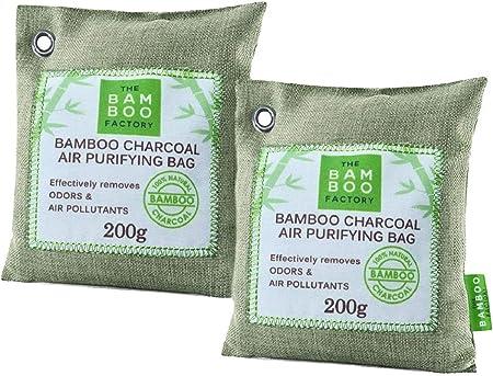 Bolsas de Carbon Activado de Bambú purificador de Aire para el ...