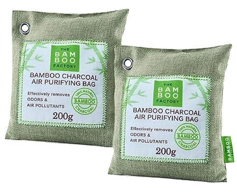 Bolsas de carbon activado de Bambú purificador de aire para ...