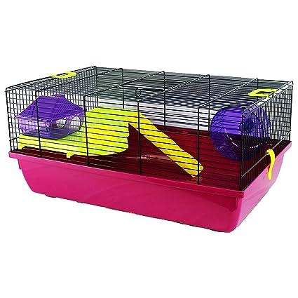 Pet Ting Jaula de hámster Grande para Mascotas Harper Gerbil ratón ...
