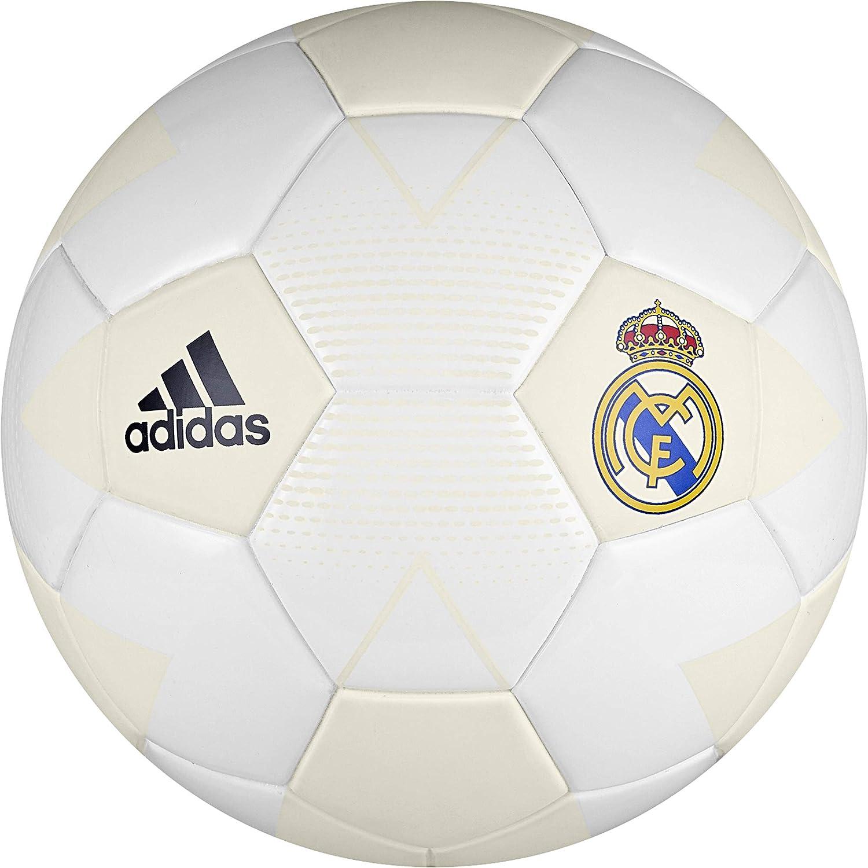 adidas Real Madrid, Balón de Fútbol para Hombre, Blanco (Cream ...