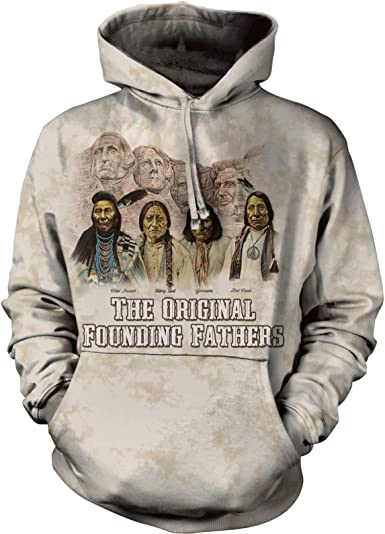 The Mountain Adult The Originals Native American Hoodie