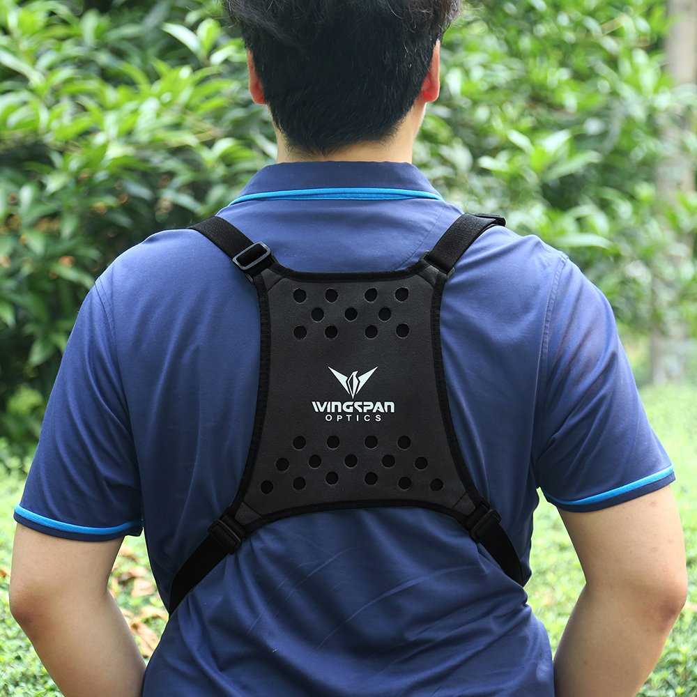 Wingspan Optics Harrier - Bird Watching Binocular Harness Strap. Better Bird Watching Adventures by Having Binoculars Within Reach for Quick Views. Removes Neck Strain from Carrying Heavy Binoculars. by Wingspan Optics (Image #8)