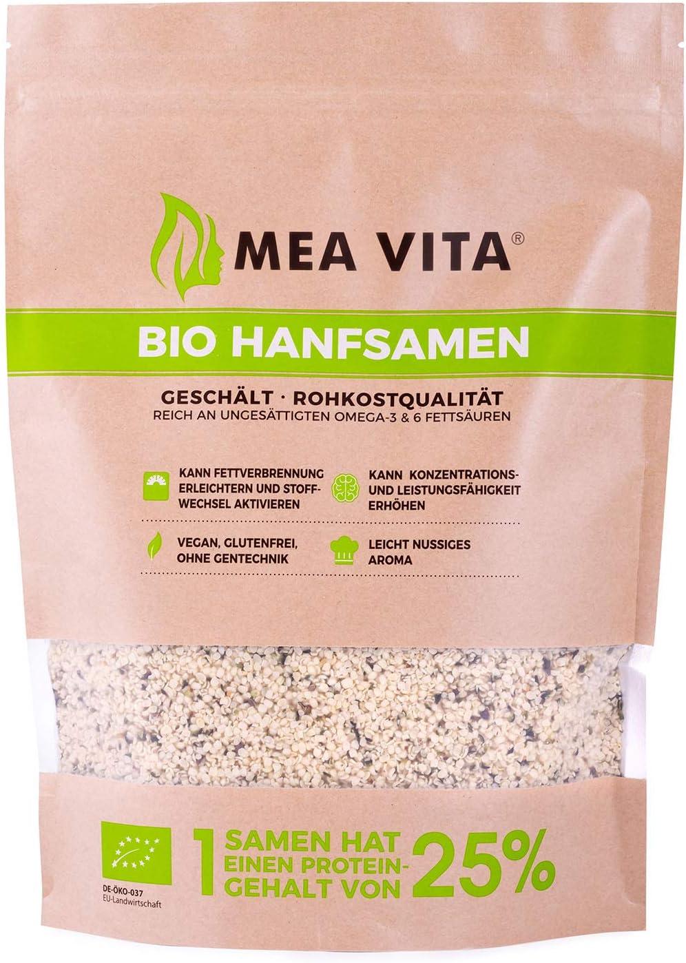 Meavita Semillas De Chia, Paquete De 2 (2 X 1000 g) 2000 g