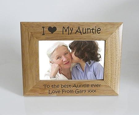 Auntie Photo Frame 7 X 5 I Heart Love My Auntie 7 X 5 Photo Frame