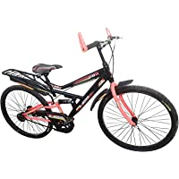 Global Bikes Suspension Single Speed 26T Bicycle (26T,Suspension)