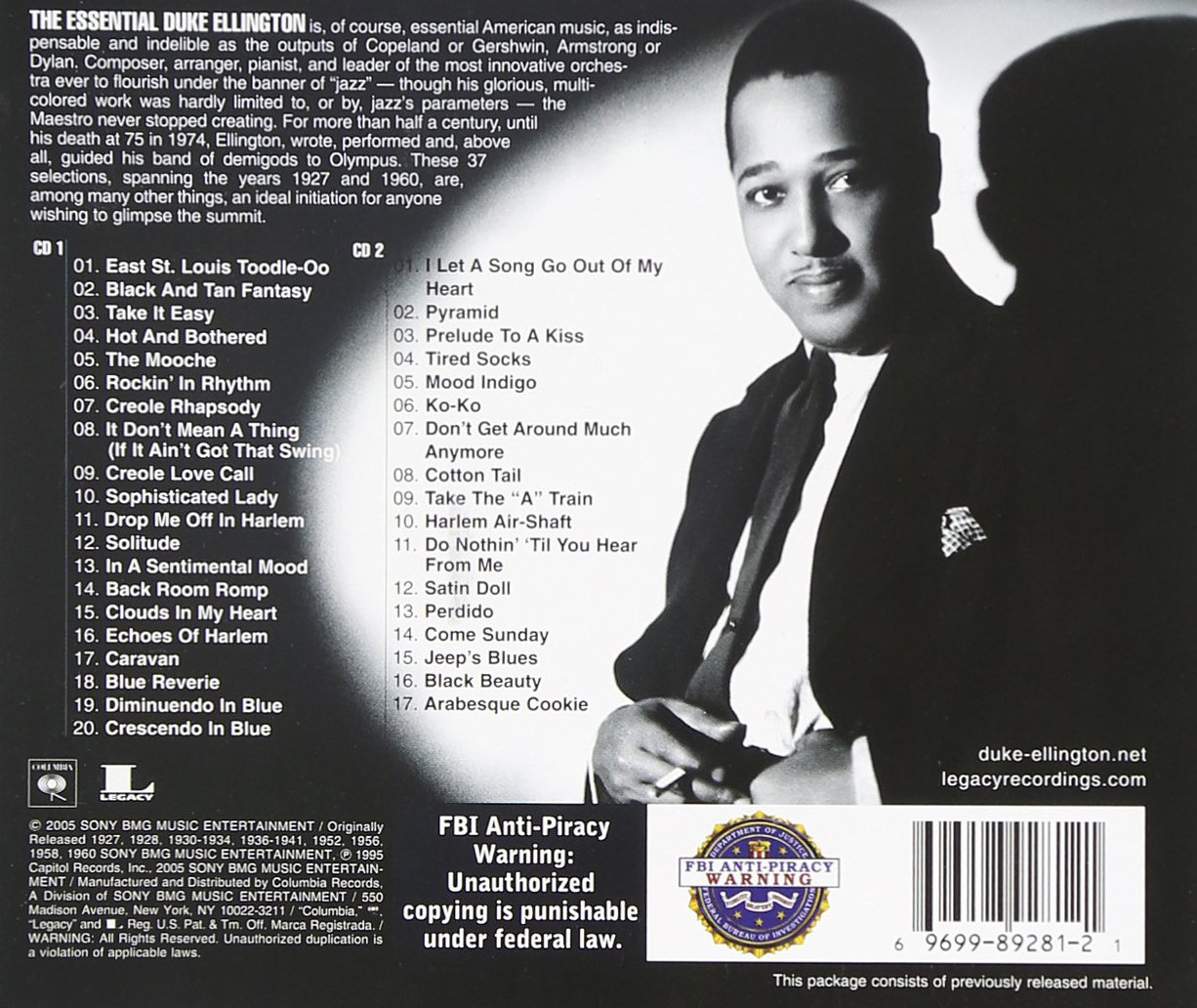 duke ellington the essential duke ellington com music