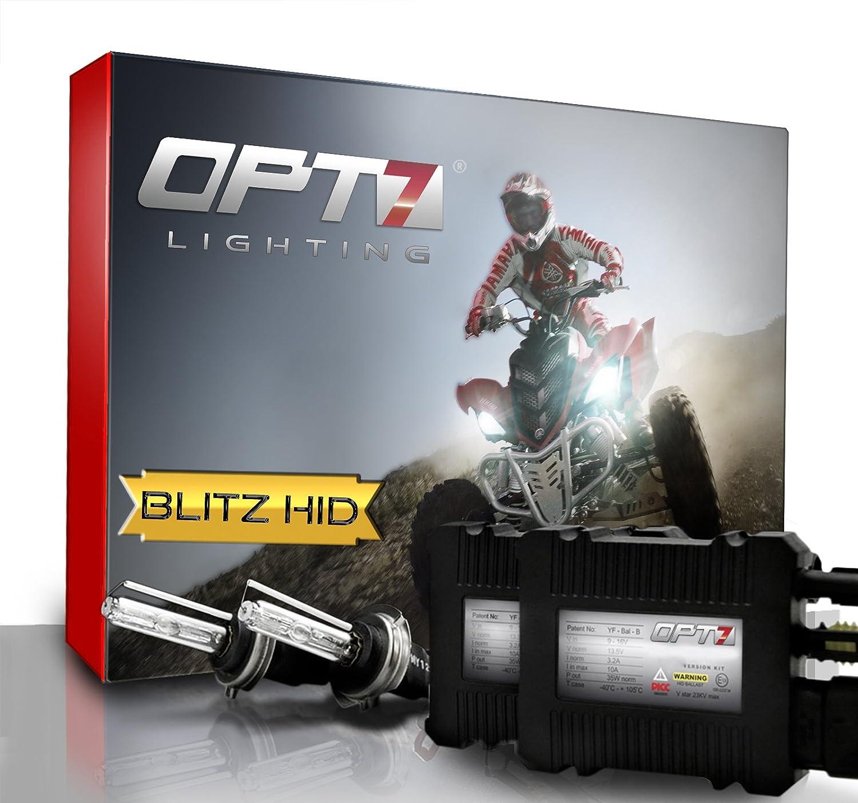 Amazon OPT7 Blitz w Slim HID Kit for Powersport ATV