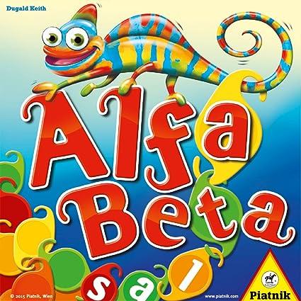 Piatnik Alfa Beta Niños Juego de Mesa de Palabras - Juego de ...