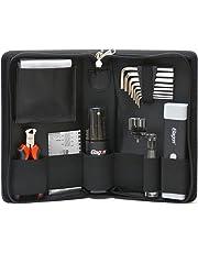 Elagon KIT-ST - Kit de limpieza Guitar Pro, kit de Herramientas para el Mantenimiento, Diseñado para Guitarras Eléctricas, Acústicas o Clásicas, bolsa negra 21,5 x 13,5 x 5 cm  con cremallera