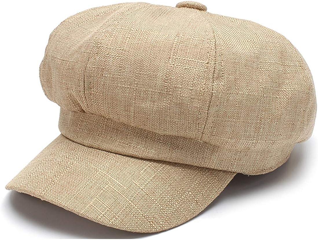 Pogah Linen Newsboy Hats...