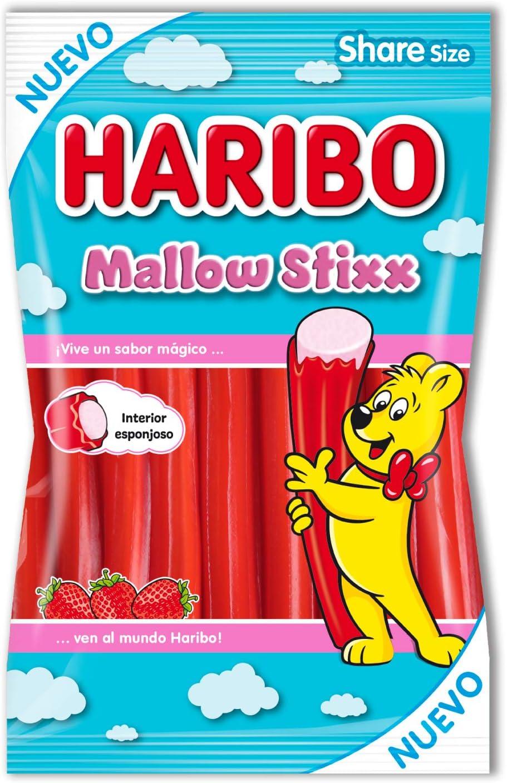 Paquete de gominolas Haribo Mallow Stixx por sólo 1,14€