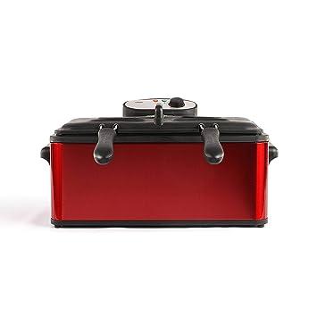 Domoclip DOC149 Maxifreidora, roja, 6 L, 3000 W: Amazon.es ...