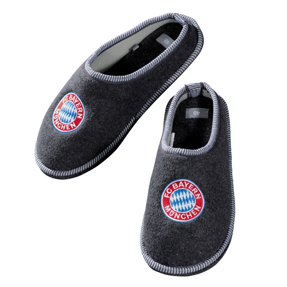 new concept 5f1f9 28996 FC Bayern Munich Fan Shop Felt Slippers Size:40: Amazon.co ...