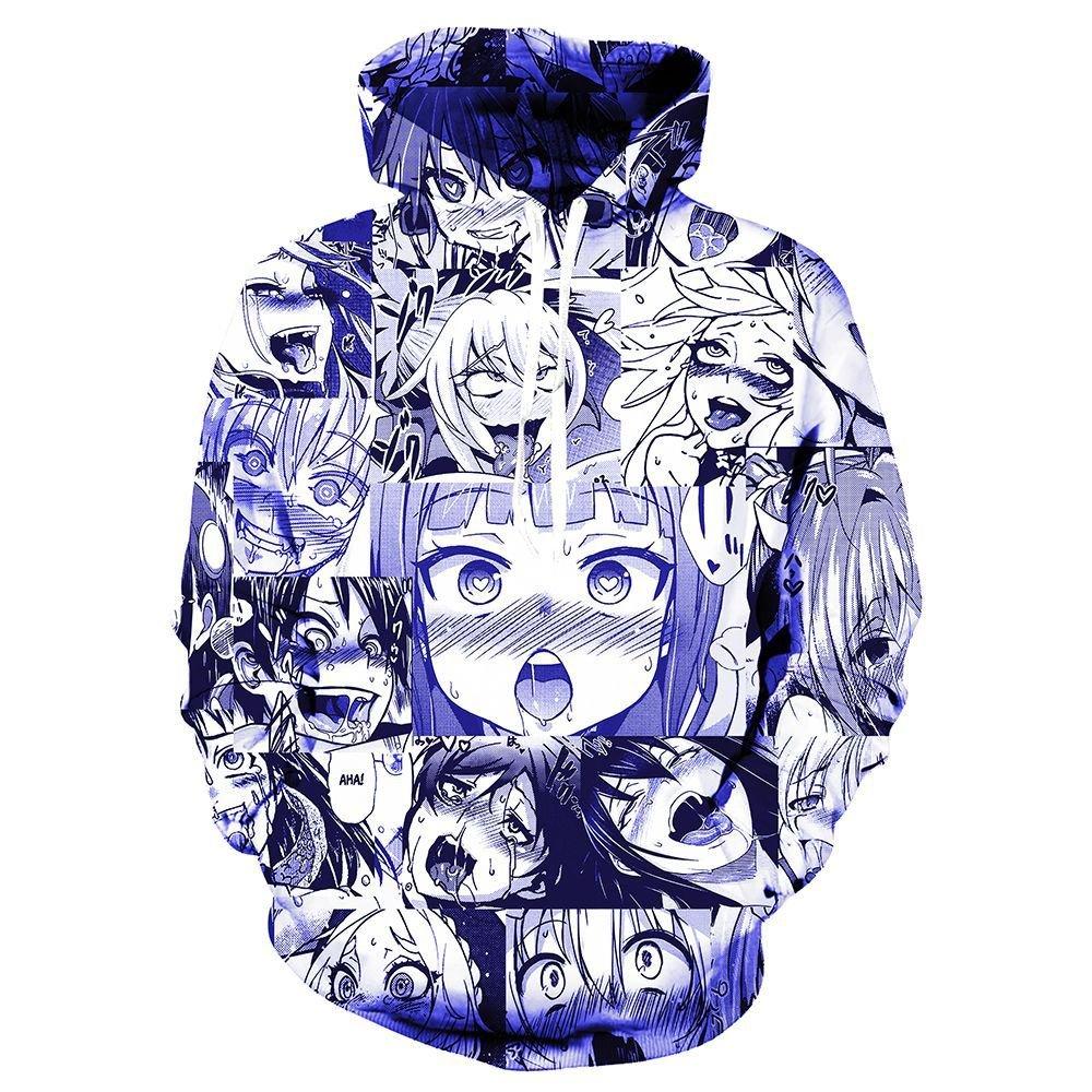 VOSTE Japan Anime Hoodies Sweatshirt Autumn Winter Long Sleeve Pullovers 3D Print Tracksuit (Large, Color 1) by VOSTE (Image #1)