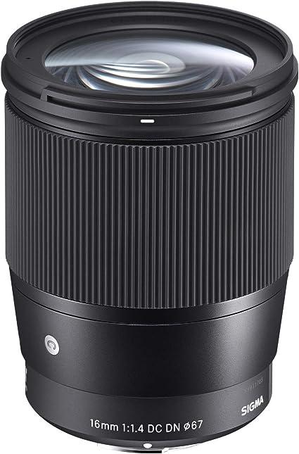 Sigma 16 Mm F1 4 Dc Dn Zeitgenössisches Objektiv Kamera