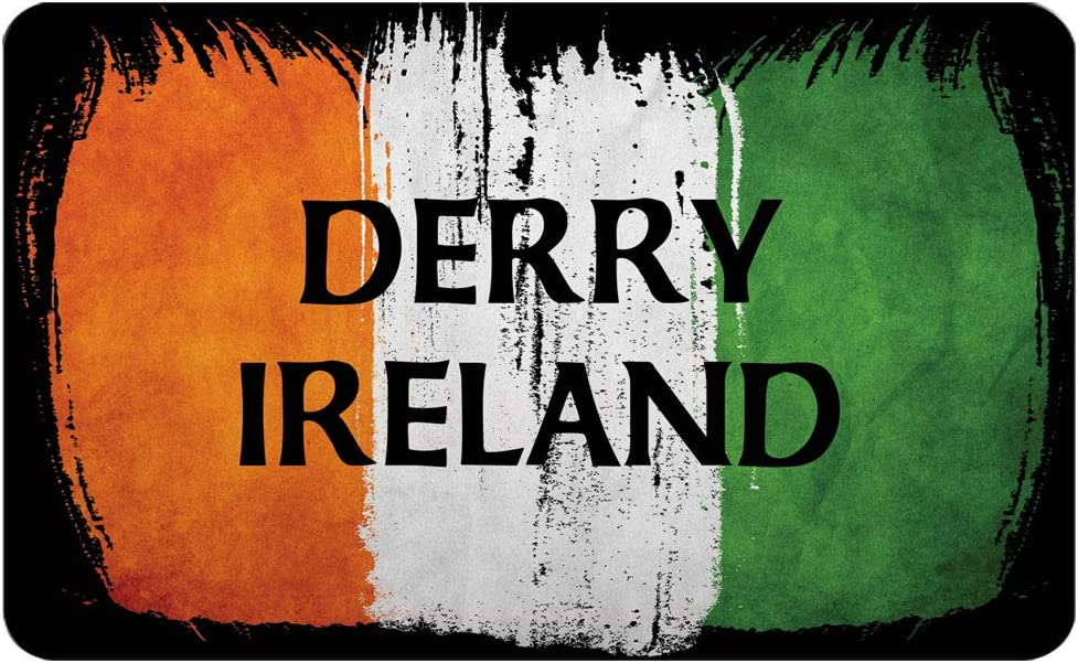 Makoroni - DERRY IRELAND Irish Ireland Flag Des#2 Refrigerator Wall Magnet 2.75x3.5 inc