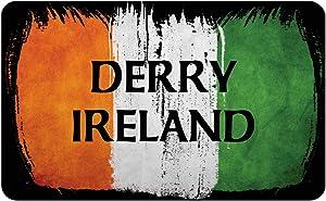 Makoroni - DERRY IRELAND Irish Ireland Flag Des#2 Refrigerator Wall Magnet 2.75x3.5 inc