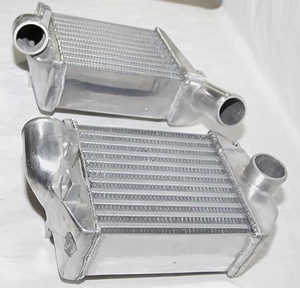 Amazon.com: Front Side Mount Bi-Turbo Intercooler for 00-02 Audi S4 Base Sedan 4D 2.7L B5/C5: Automotive