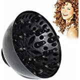 Diffusore Phon,Diffusore per asciugacapelli, D: 48mm,Nero