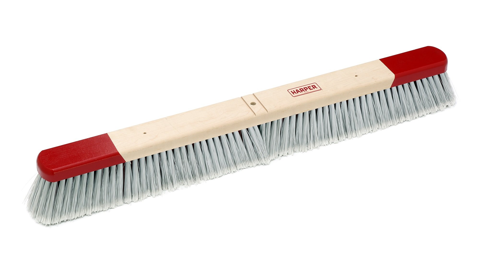 Harper Brush 353012 Broom Head, Polystyrene Fiber, All Purpose, Semi Rough Surface, Maple, 30'' (Pack of 12)