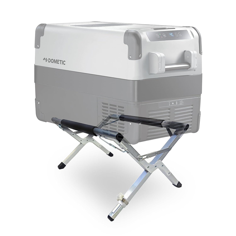 Nevera portátil con Soporte Dometic para Exterior y cocinar en Camping: Segura, higiénica, fácil de Transportar,con Soporte Estable, Capacidad de Carga de hasta 80kg, Altura Ajustable 9600000689