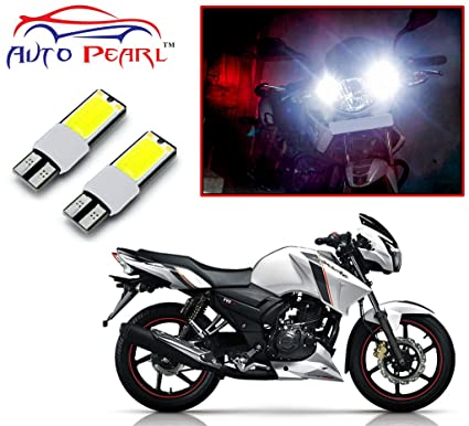 Auto Pearl LED Parking Light for TVS Apache RTR 160 (Set of