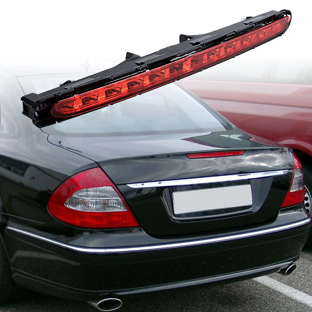 Red Led 3rd Third Brake Light Stop Lamp For 2003 2009 Mercedes E280 Benz E350 Fuse Box E500 E63 Amg 4 Door Car Motorbike