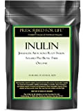 Inulin - Jersualem Artichoke Root Inulin - Soluble Pre-Biotic Fiber ING: Organic Powder, 12 oz
