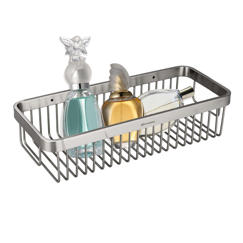 Amazon.com: HOMEIDEAS Shower Caddy Corner Stainless Steel Shower ...