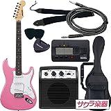 SELDER セルダー エレキギター ストラトキャスタータイプ ST-16/PK 初心者入門ベーシックセット