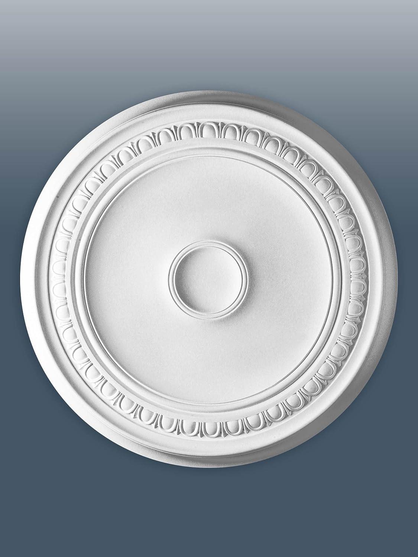 ORAC R77 Ceiling Rose Rosette Medallion Centre high quality polyurethane classic style white 62 cm = 24 inch diameter Orac Decor